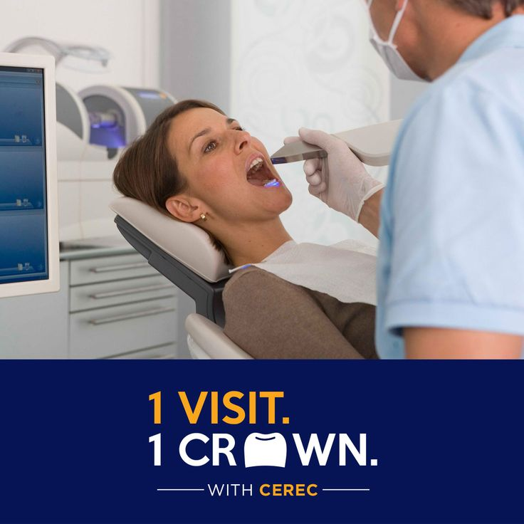 Same Day Cerec Crown only $699* (restrictions apply)
